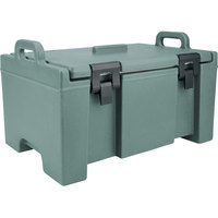 Cambro UPC100401 Camcarrier® Slate Blue Top Loading 8 inch Deep Insulated Food Pan Carrier