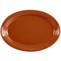 Homer Laughlin 458334 Fiesta Paprika 13 5/8 inch Platter - 12/Case