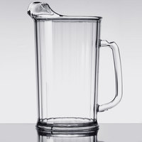 Cambro P60CW135 Camwear 60 oz. Clear Customizable Plastic Pitcher