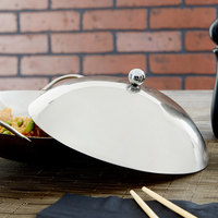 7 3/4 inch Stainless Steel Wok Cover