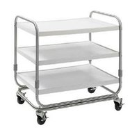 Delfield UC-2 Two Shelf Utility Cart - 35 inch x 23 inch