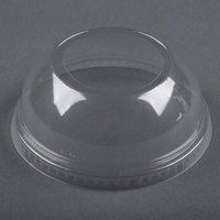 Dart Solo Conex DLW626 Clear PET Dome Lid with 2 inch Hole - 1000/Case