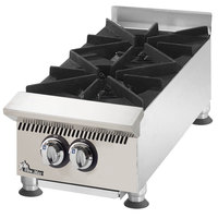 Star 802HA Ultra Max 2 Burner Countertop Range / Hot Plate 60,000 BTU - 12 inch