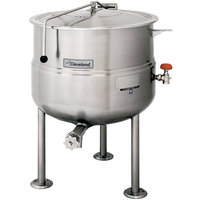 Cleveland KDL-250 250 Gallon Stationary 2/3 Steam Jacketed Direct Steam Kettle