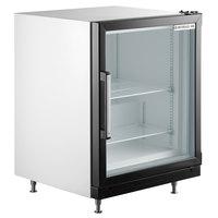 Beverage-Air CF3-1-W White Countertop Display Freezer with Swing Door