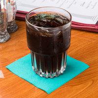 Hoffmaster 180301 Teal Beverage / Cocktail Napkin - 1000/Case