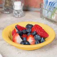 Tuxton CSD-052 Concentrix 4.5 oz. Saffron China Fruit / Monkey Dish - 24/Case