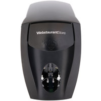 WebstaurantStore 9942 Black Health Guard Hand Soap / Sanitizer Dispenser