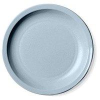 Cambro 55CWNR401 Slate Blue Camwear 5 1/2 inch Narrow Rim Plate - Polycarbonate 48/Case