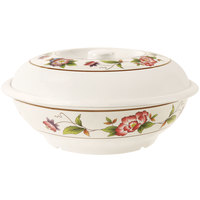 GET KT-070-TR 94 oz. Tea Rose Bowl with Lid - 12 / Pack