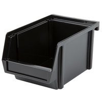 Vollrath 4804-06 Traex Black Self-Serve 8 inch Condiment Bin