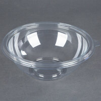 Fineline 5048-CL Super Bowl 48 oz. Clear PET Plastic Bowl - 25/Pack