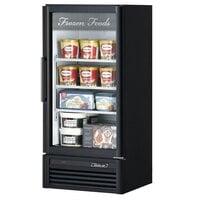 Turbo Air TGF-10SD Black 26 inch Super Deluxe Merchandiser Freezer - 9.3 Cu. Ft.