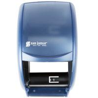 San Jamar R3500TBL Duett Classic Toilet Tissue Dispenser - Arctic Blue