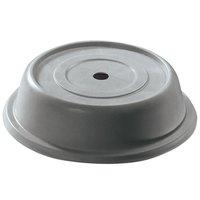 Cambro 911VS191 Versa Camcover 9 11/16 inch Granite Gray Round Plate Cover - 12/Case