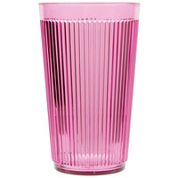 Carlisle 401255 Rose Crystalon Stack-All SAN Tumbler 12 oz. - 12/Case