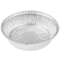 """7"""" Round Foil Take Out Pan Heavy Weight - 500/Case"""