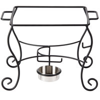 American Metalcraft CF50 1/2 Size Wrought Iron Ornate Chafer Stand