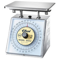 Edlund DCS-2 Five Star Series Heavy-Duty 32 oz. Portion Scale with 7 inch x 8 3/4 inch Platform
