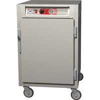 Metro C565-SFS-UPFC C5 6 Series Half-Height Reach-In Pass-Through Heated Holding Cabinet - Solid / Clear Doors