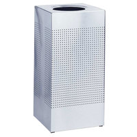 Rubbermaid SC10 Silhouettes Stainless Steel Designer Waste Receptacle - 10 Gallon (FGSC10SSRB)