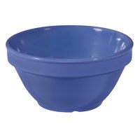 GET BC-170-PB Diamond Mardi Gras 8 oz. Peacock Blue Melamine Bowl - 48/Case