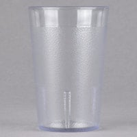Cambro 800P2152 Colorware 7.8 oz. Clear Customizable Plastic Tumbler - 24/Case