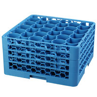 Carlisle RW30-314 OptiClean NeWave 30 Compartment Glass Rack with 4 Extenders