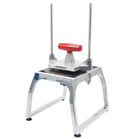 Vollrath 15151 Redco InstaCut 5.0 6 Section Fruit and Vegetable Wedger - Tabletop Mount