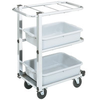 Vollrath 97186 Cantilever Bussing Cart - 27 inch x 16 inch x 34 1/2 inch