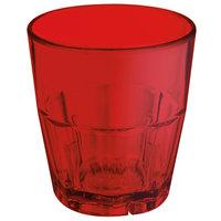 GET 9955-1-R Bahama 5.5 oz. Red Break-Resistant Customizable Plastic Tumbler - 72/Case