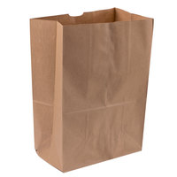 Duro 1/6 Brown Paper Barrel Sack - 500/Bundle
