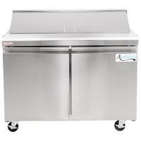 Avantco SCL2 48 inch 2 Door Refrigerated Sandwich Prep Table