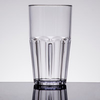 GET 9922-1-CL Bahama 22 oz. Clear Break-Resistant Plastic Tumbler - 72/Case