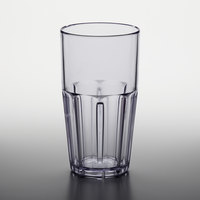 GET 9922-1-CL Bahama 22 oz. Clear Break-Resistant Customizable Plastic Tumbler - 72/Case