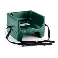 Cambro 200BCS Dual Seat Booster Chair with Strap - Green
