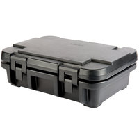 Cambro UPC140110 Camcarrier Ultra Pan Carrier® Black Top Loading 4 inch Deep Insulated Food Pan Carrier