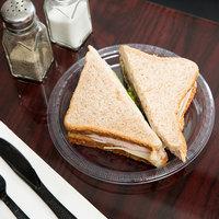 Creative Converting 28114111B 7 inch Clear Plastic Plate - 600/Case