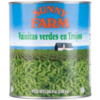 Cut Green Beans - 6/Case