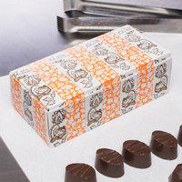 5 1/2 inch x 2 3/4 inch x 1 3/4 inch 1-Piece 1/2 lb. Thanksgiving Candy Box - 250/Case