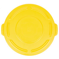 Rubbermaid FG261960YEL BRUTE Yellow 20 Gallon Trash Can Lid