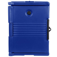 Cambro UPC400SP186 Camcarrier Navy Blue Pan Carrier with Security Package