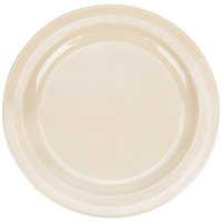Thunder Group NS110T Nustone 10 inch Narrow Rim Tan Melamine Plate - 12/Pack