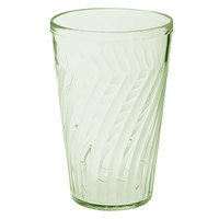 GET 2212-1-JA Tahiti 12 oz. Jade Green SAN Customizable Plastic Tumbler - 72/Case
