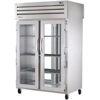 True STA2RPT-2G-2G Specification Series Pass-Through Glass Door Refrigerator