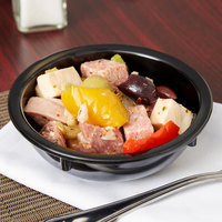 Carlisle KL11803 Kingline 10 oz. Black Nappie Bowl - 48/Case