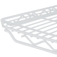 Metro 2448QW qwikSLOT White Wire Shelf - 24 inch x 48 inch