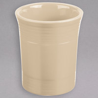Homer Laughlin 447330 Fiesta Ivory 6 1/2 inch Utensil Crock - 4/Case