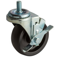 True 830225 4 inch Swivel Stem Caster with Brake