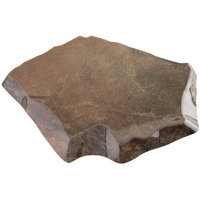 GET ML-274-SLATE Stone-Mel Melamine Display - 13 inch x 10 1/2 inch